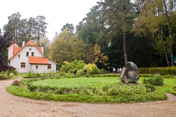 Центр усадьбы