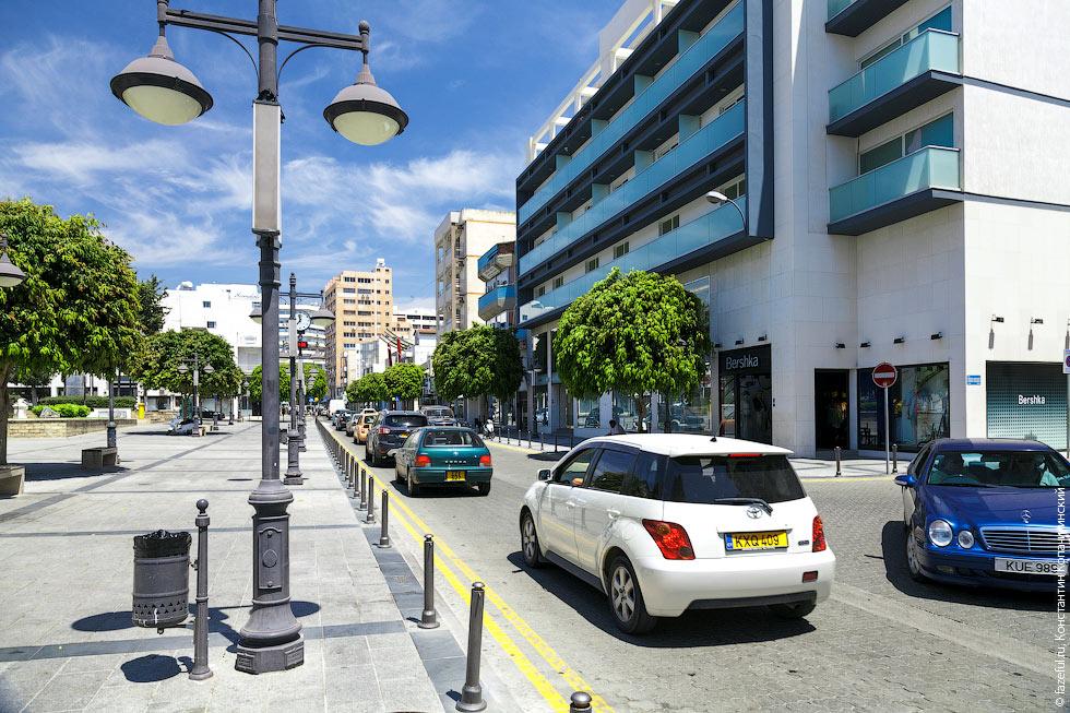 Центральная улица в Лимасоле