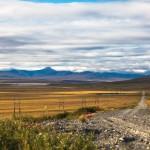 Дорога в Иультин