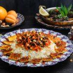 Иранский сладкий плов